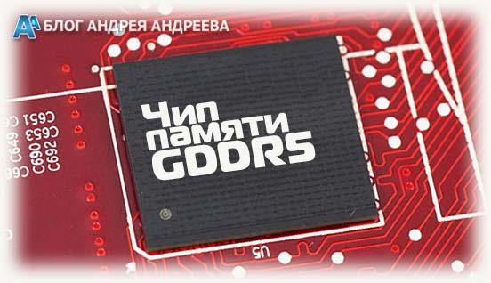 Чип памяти GDDR5