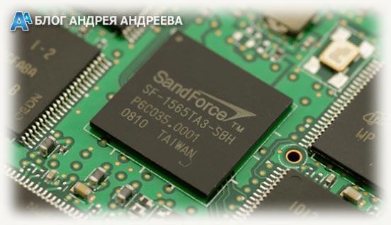 Контроллер SandForce SSD