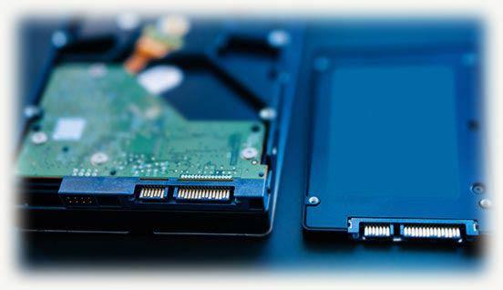 HDD и SSD напопители
