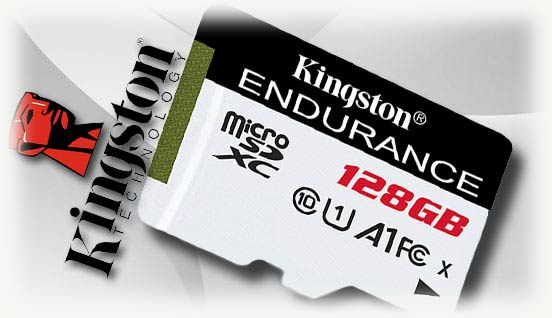 Карта памяти на 128 серии endurance
