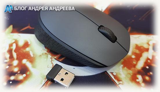 Беспроводная мышка с приемником USB