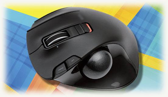 Беспроводная мышка типа трекбол