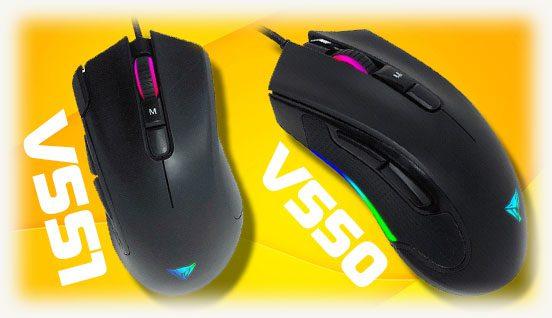 Геймерские V550 и V551 Viper Gaming