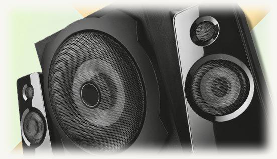 аудио для пк колонки формата 2.1