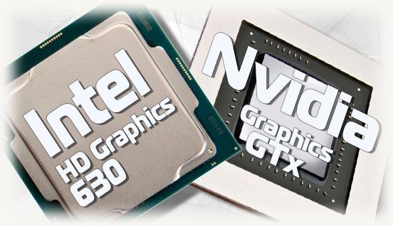 Процессор с HD 630 и Nvidia серии GTX