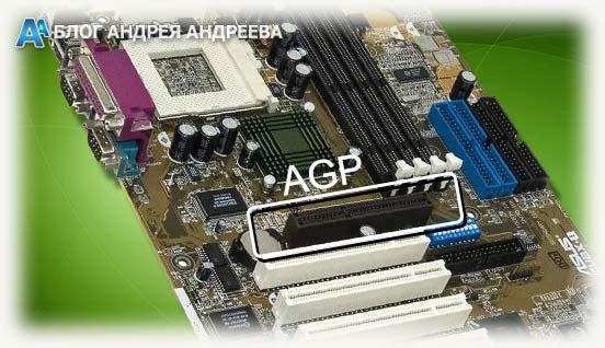 слот AGP на мат плате