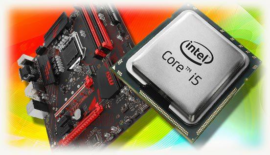 материнская плата и CPU i5