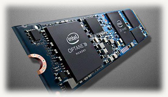 Плата Intel Optane Memory