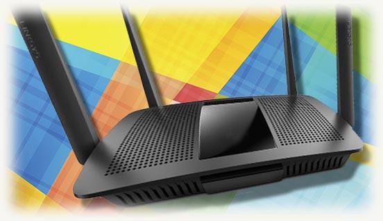 wi-fi роутер черного цвета