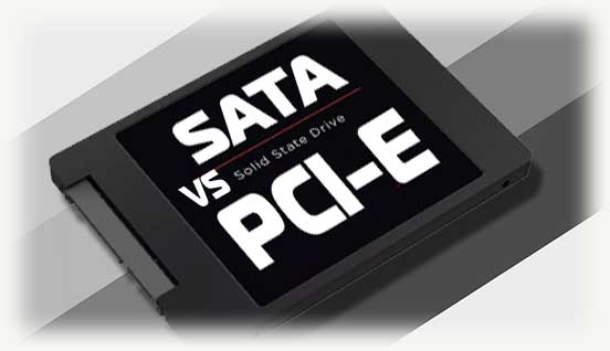sata ssd vs pci-e