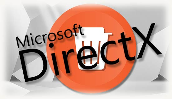 DirectX и знак удаления