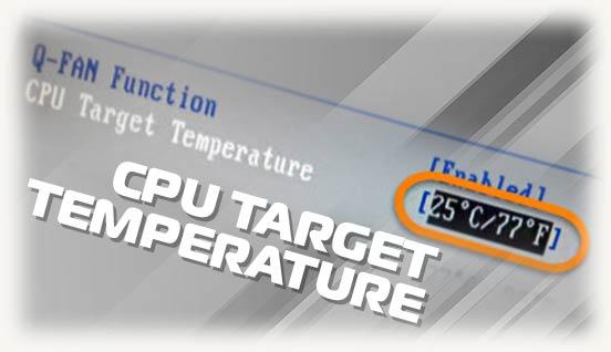 CPU Target Temperature