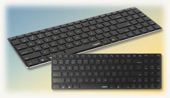Клавиатура ультратонкая E9100M rapoo