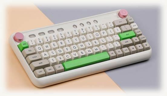 Ретро клавиатура Epomaker B21