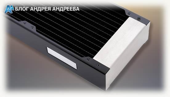 Радиатора темного цвета крупным планом серии HEATKILLER RAD