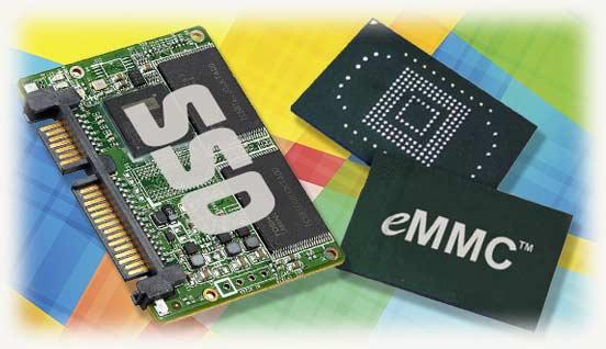 EMMC или SSD
