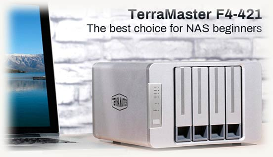F4-421 NAS от TerraMaster