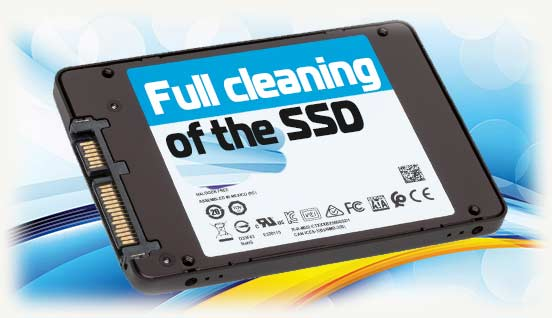 Full cleaning of the SSD