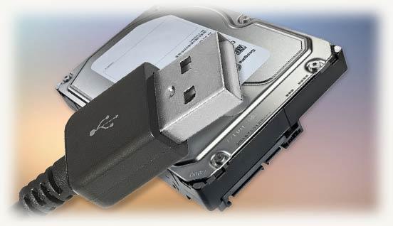 Usb коннектор и 3.5 жесткий диск