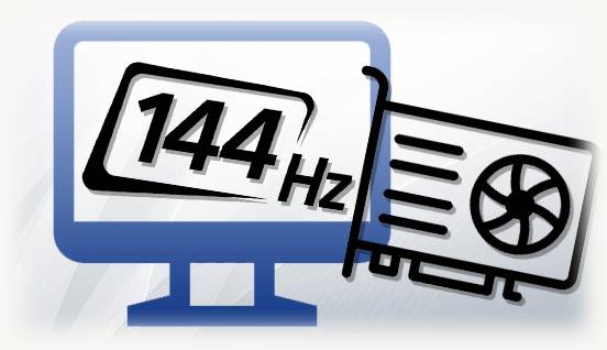 Монитор 144 герца и видеокарта